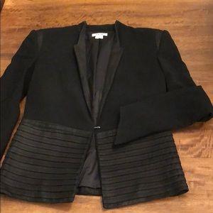 Helmut Lang black detailed blazer